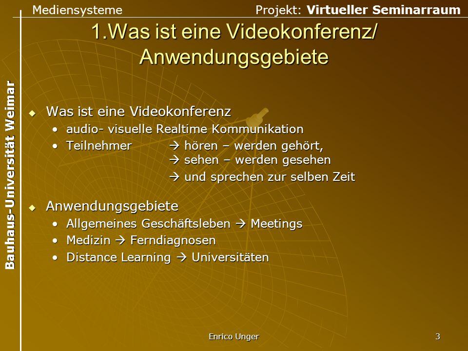 1.Was ist eine Videokonferenz/ Anwendungsgebiete