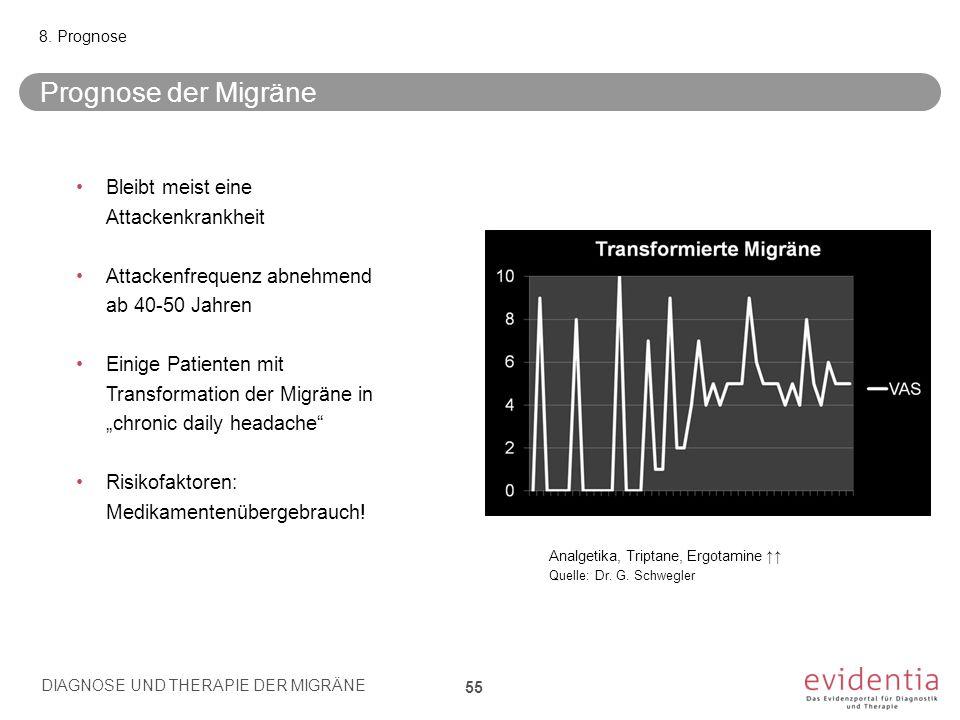 Prognose der Migräne Bleibt meist eine Attackenkrankheit