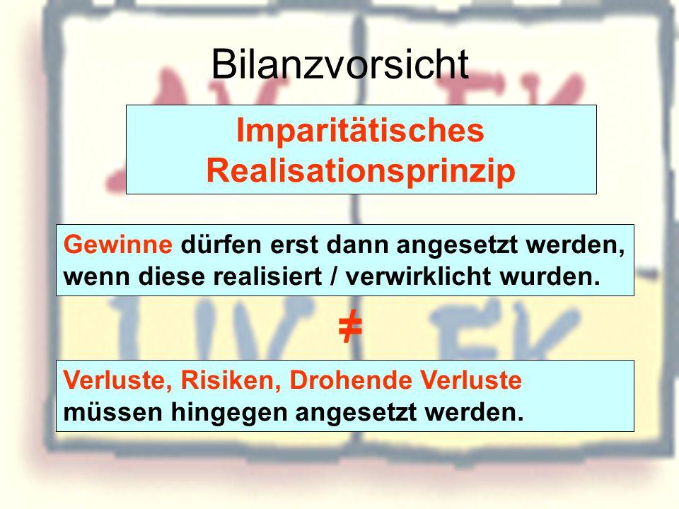 Imparitätisches Realisationsprinzip