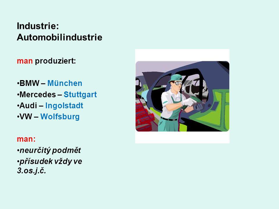 Industrie: Automobilindustrie