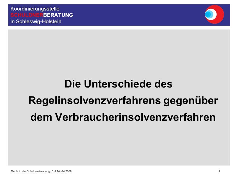 Koordinierungsstelle SCHULDNERBERATUNG in Schleswig-Holstein