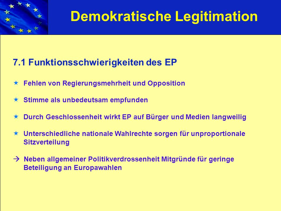 Demokratische Legitimation