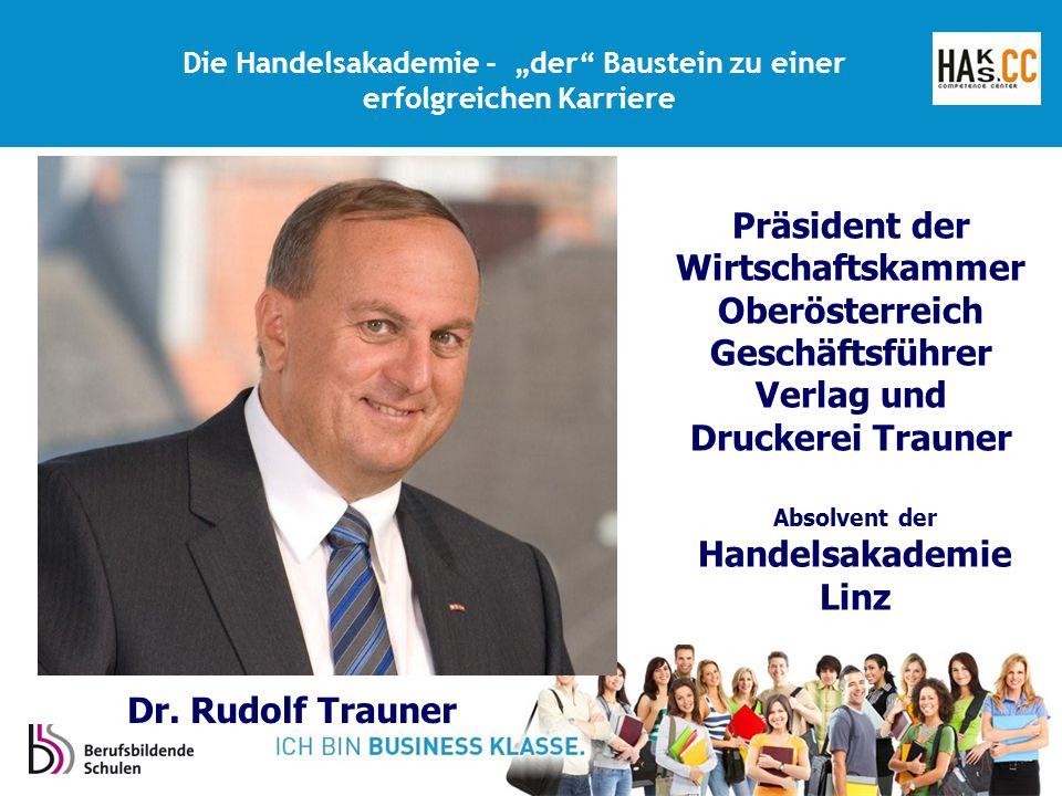 Präsident der Wirtschaftskammer Oberösterreich