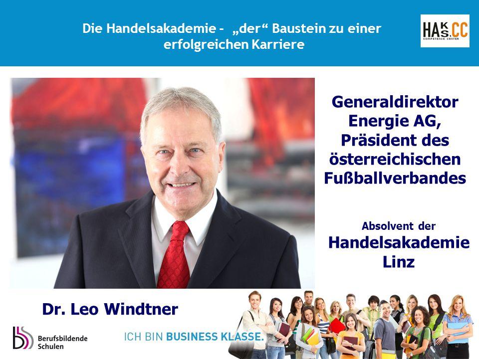 """Die Handelsakademie - """"der Baustein zu einer erfolgreichen Karriere"""