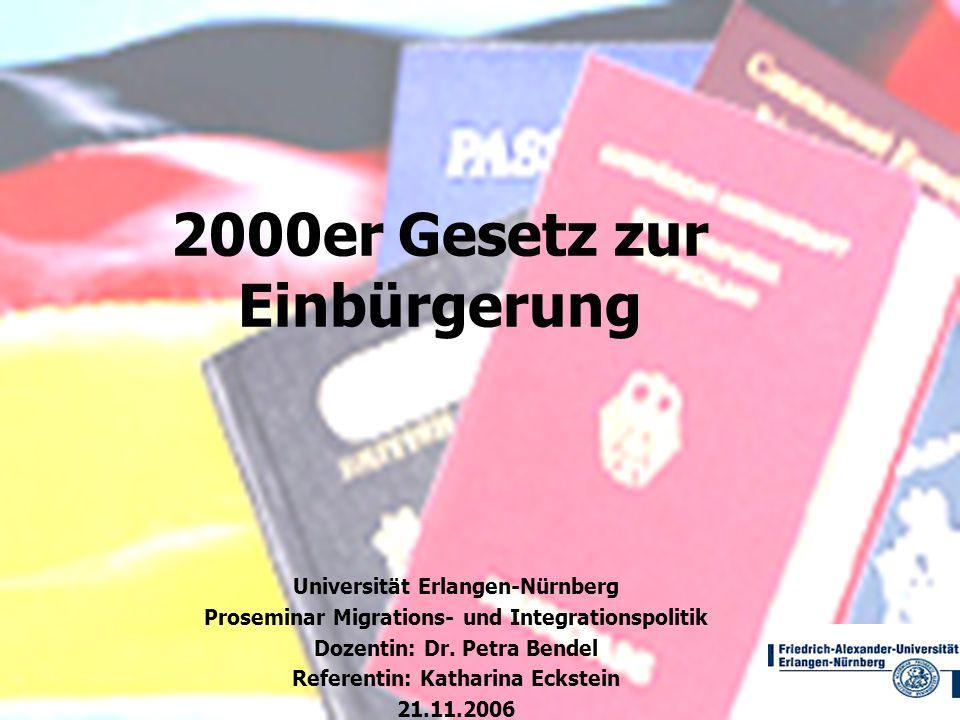 2000er Gesetz zur Einbürgerung