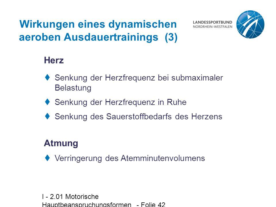 Wirkungen eines dynamischen aeroben Ausdauertrainings (3)