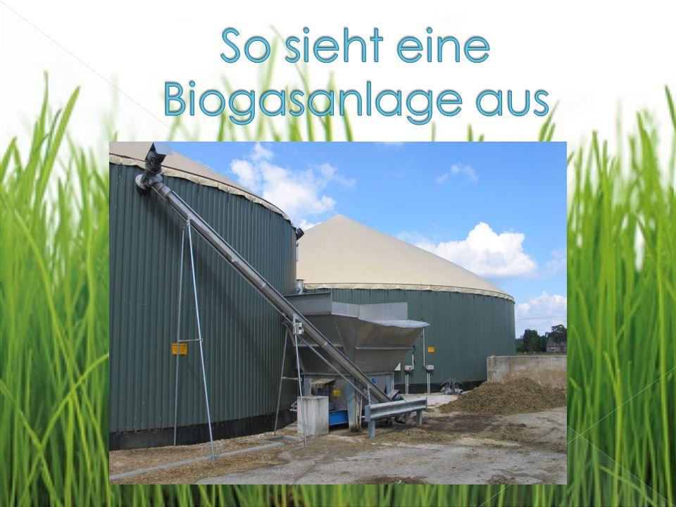 So sieht eine Biogasanlage aus