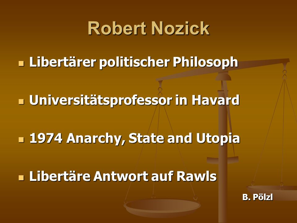 anarchy state and utopia essay An essay on nozickian metatheory gerald gaus 1 introduction in some  ways, anarchy, state and utopia has been a victim of its own success for over.