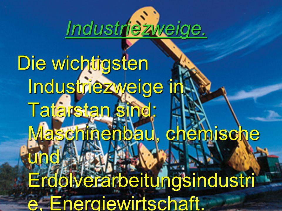 Industriezweige.