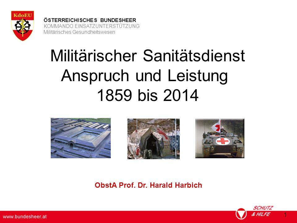ObstA Prof. Dr. Harald Harbich