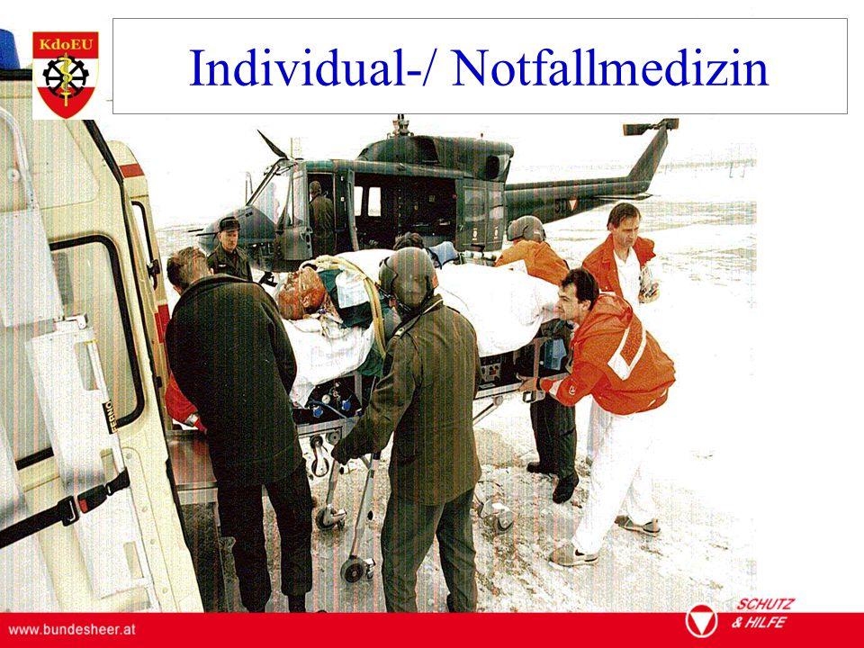 Individual-/ Notfallmedizin