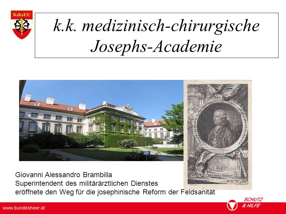 k.k. medizinisch-chirurgische Josephs-Academie