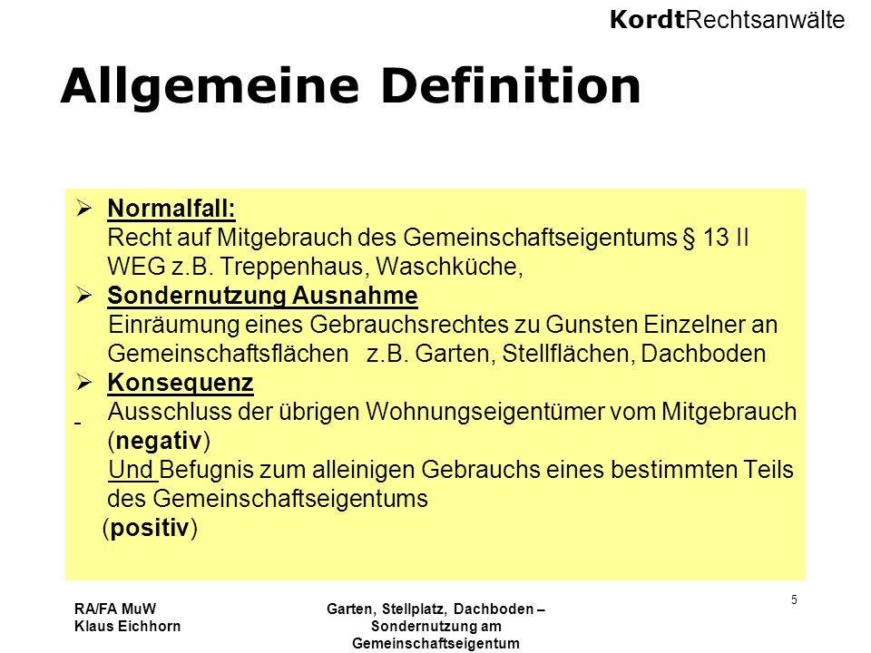 Allgemeine Definition
