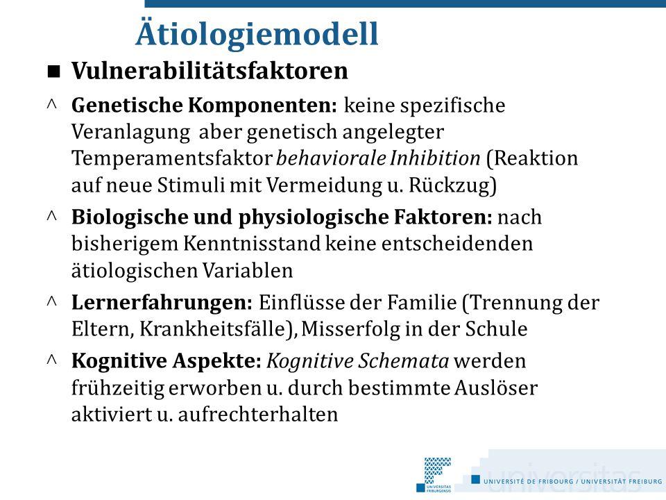 Ätiologiemodell Vulnerabilitätsfaktoren c