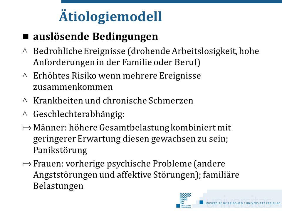Ätiologiemodell auslösende Bedingungen c