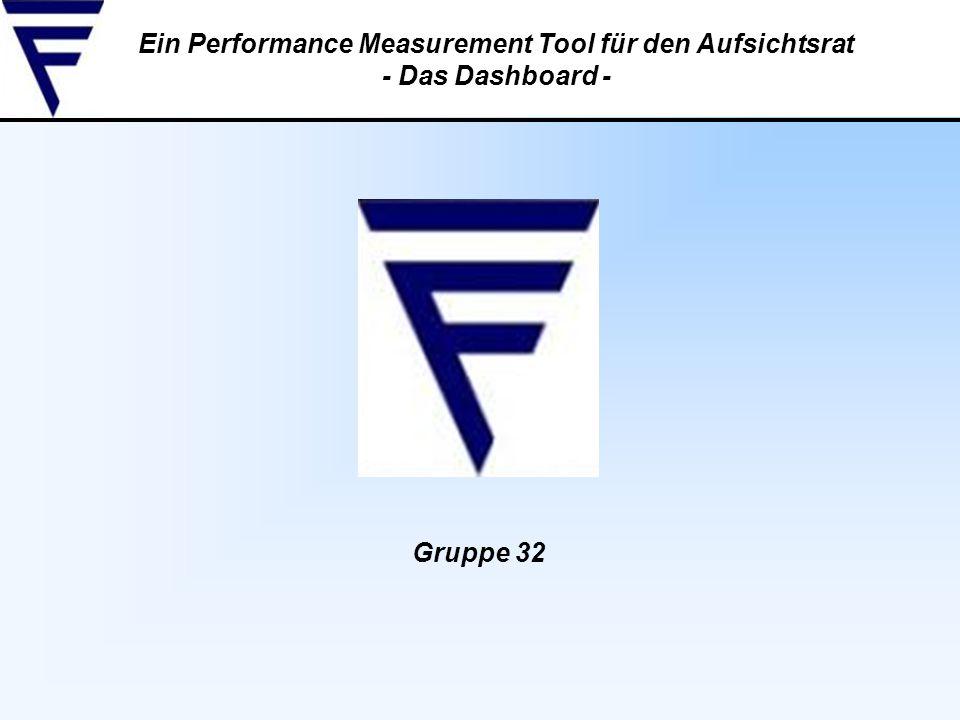 Ein Performance Measurement Tool für den Aufsichtsrat - Das Dashboard -