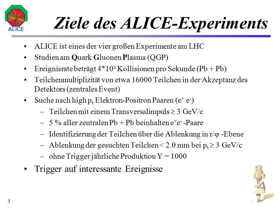Ziele des ALICE-Experiments