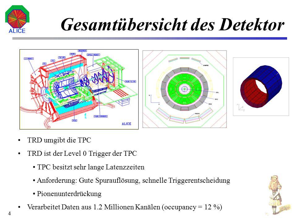 Gesamtübersicht des Detektor