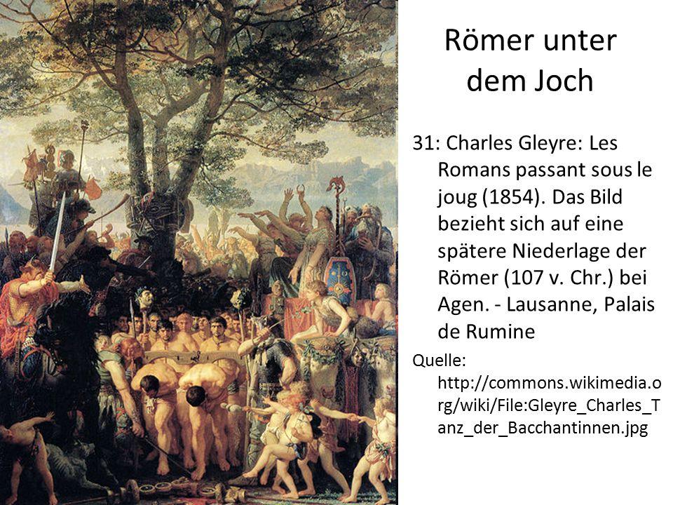 Römer unter dem Joch