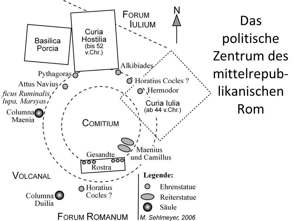 Das politische Zentrum des mittelrepub-likanischen Rom