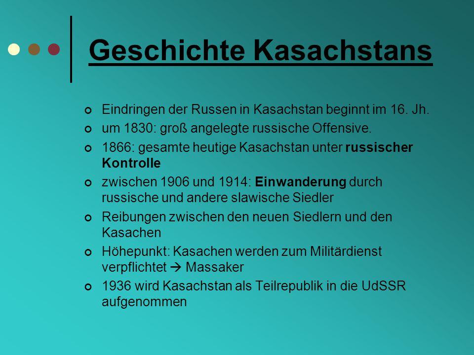 Geschichte Kasachstans