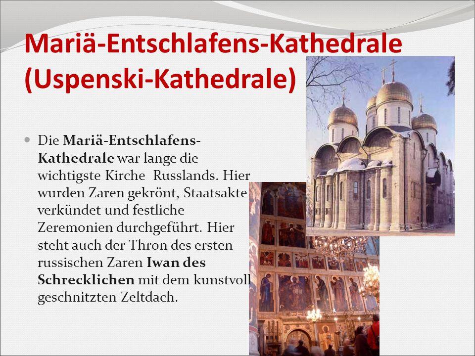 Mariä-Entschlafens-Kathedrale (Uspenski-Kathedrale)