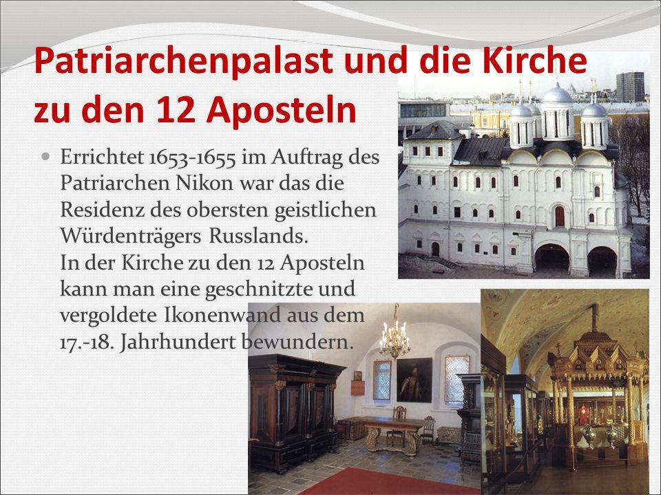 Patriarchenpalast und die Kirche zu den 12 Aposteln