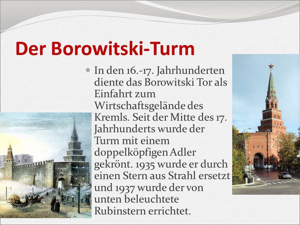 Der Borowitski-Turm
