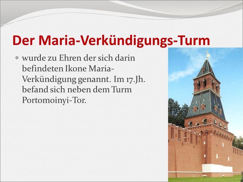 Der Maria-Verkündigungs-Turm