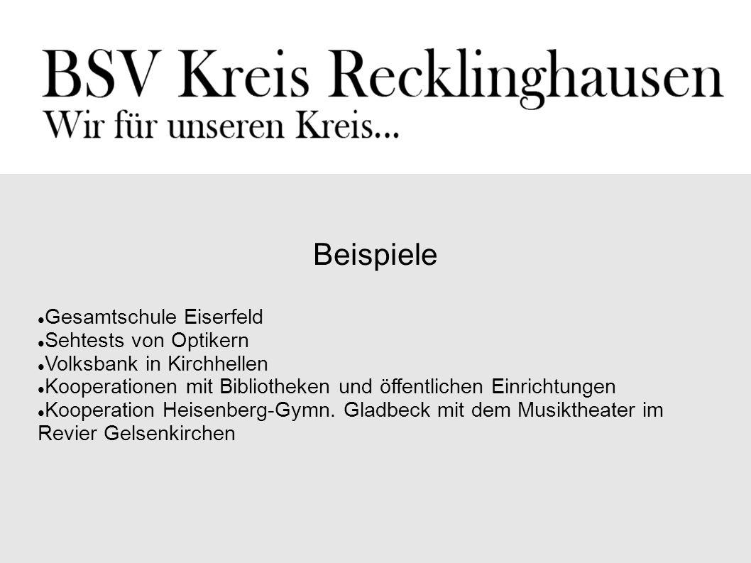 Beispiele Gesamtschule Eiserfeld Sehtests von Optikern
