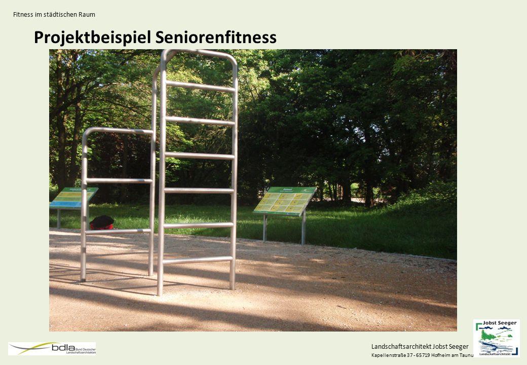 Projektbeispiel Seniorenfitness