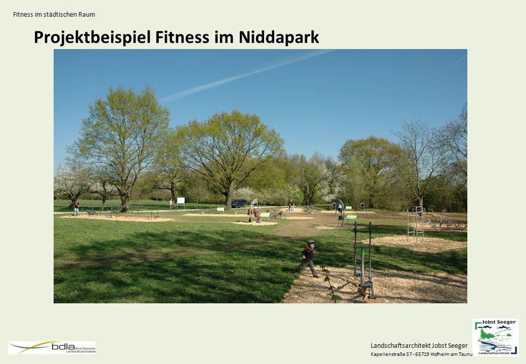 Projektbeispiel Fitness im Niddapark