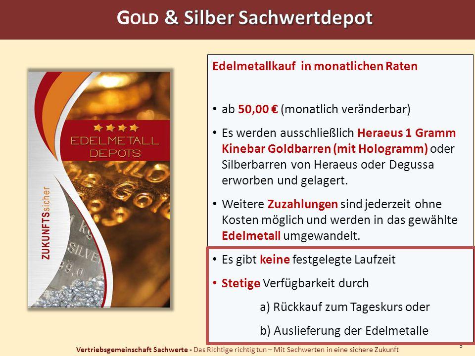Gold & Silber Sachwertdepot