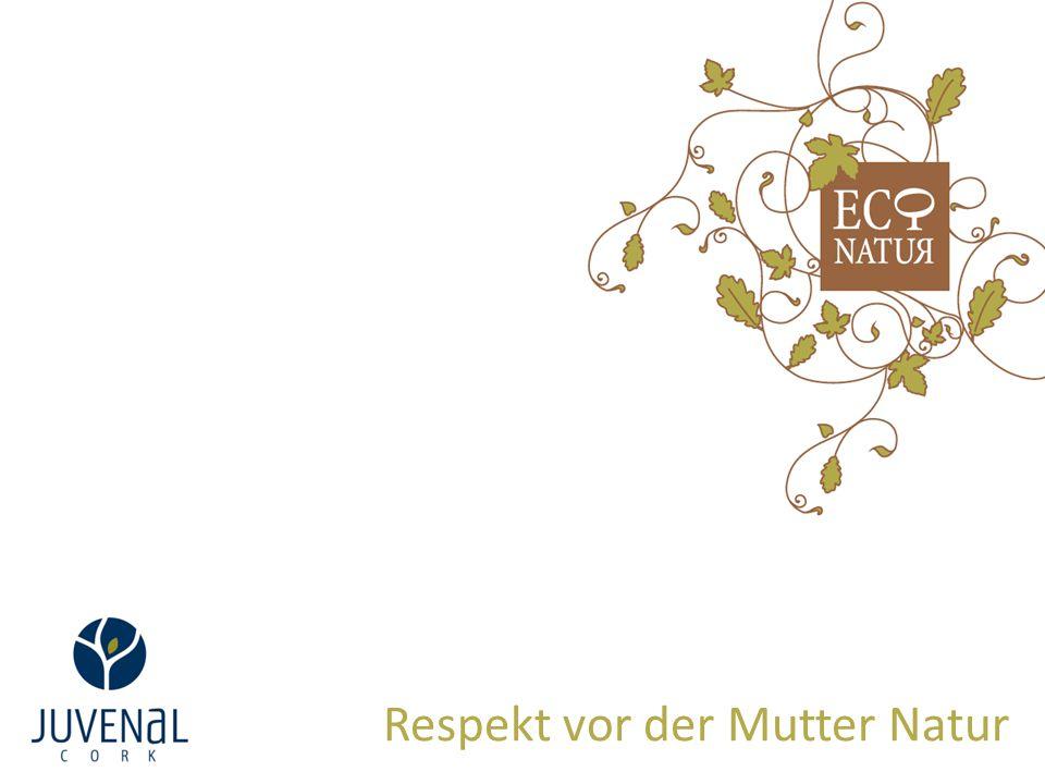 Respekt vor der Mutter Natur