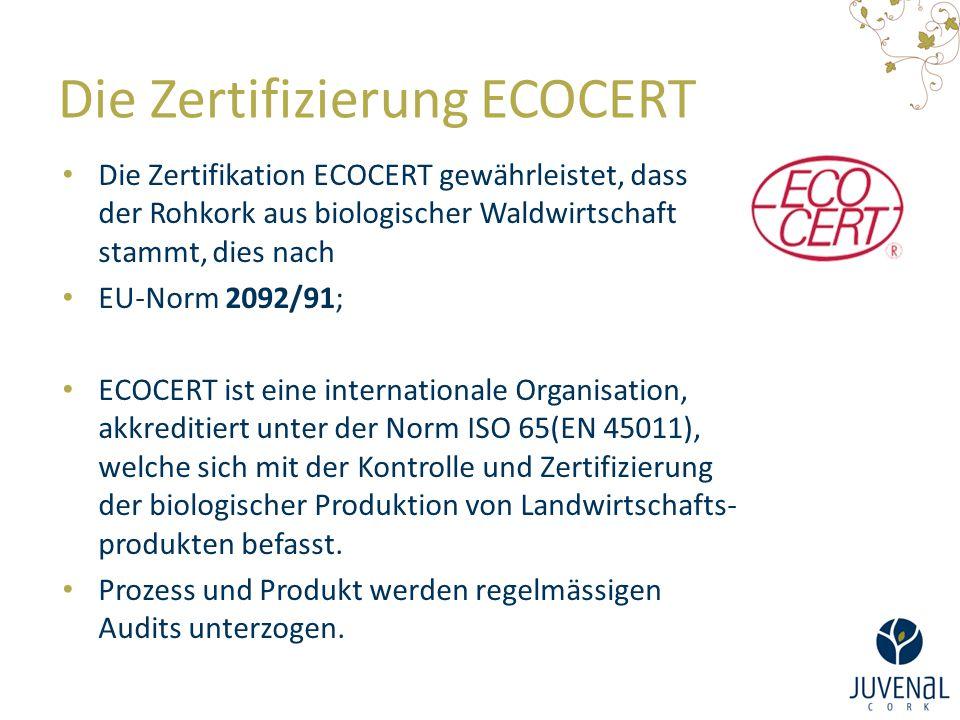 Die Zertifizierung ECOCERT