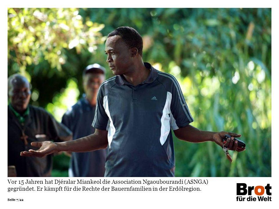 Vor 15 Jahren hat Djéralar Miankeol die Association Ngaoubourandi (ASNGA) gegründet.