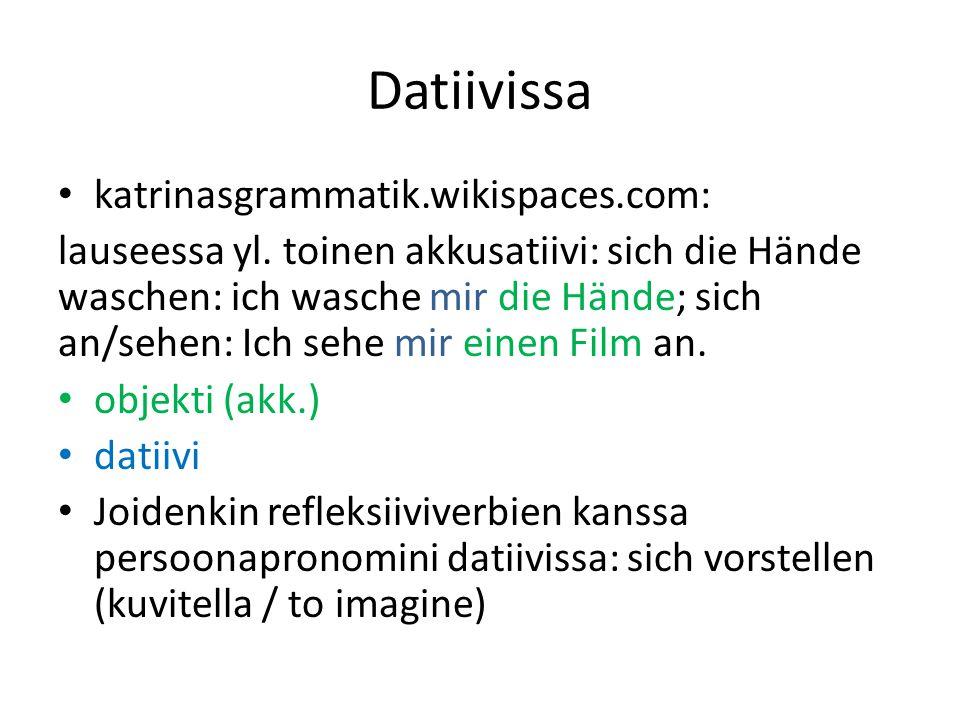 Datiivissa katrinasgrammatik.wikispaces.com: