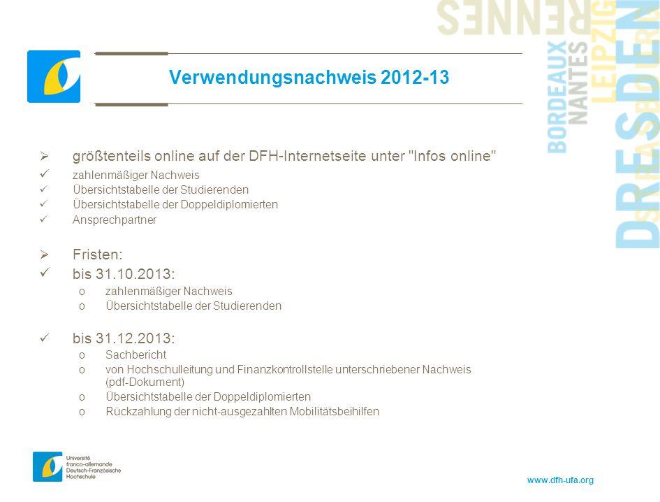 Verwendungsnachweis 2012-13