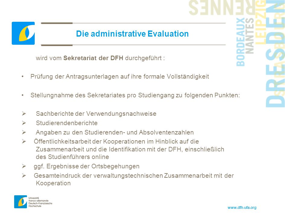 Die administrative Evaluation