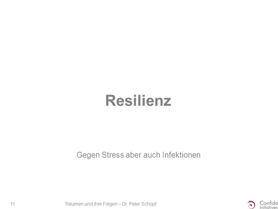 Gegen Stress aber auch Infektionen