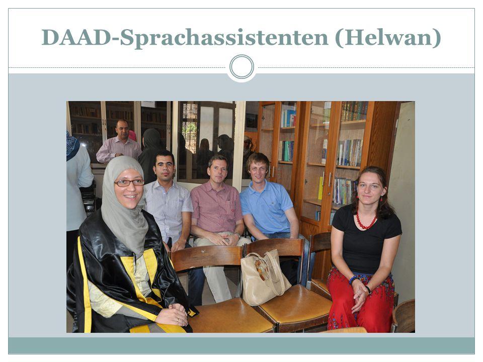 DAAD-Sprachassistenten (Helwan)