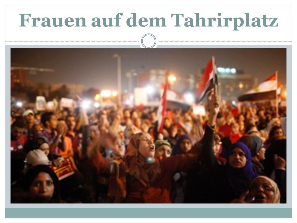 Frauen auf dem Tahrirplatz