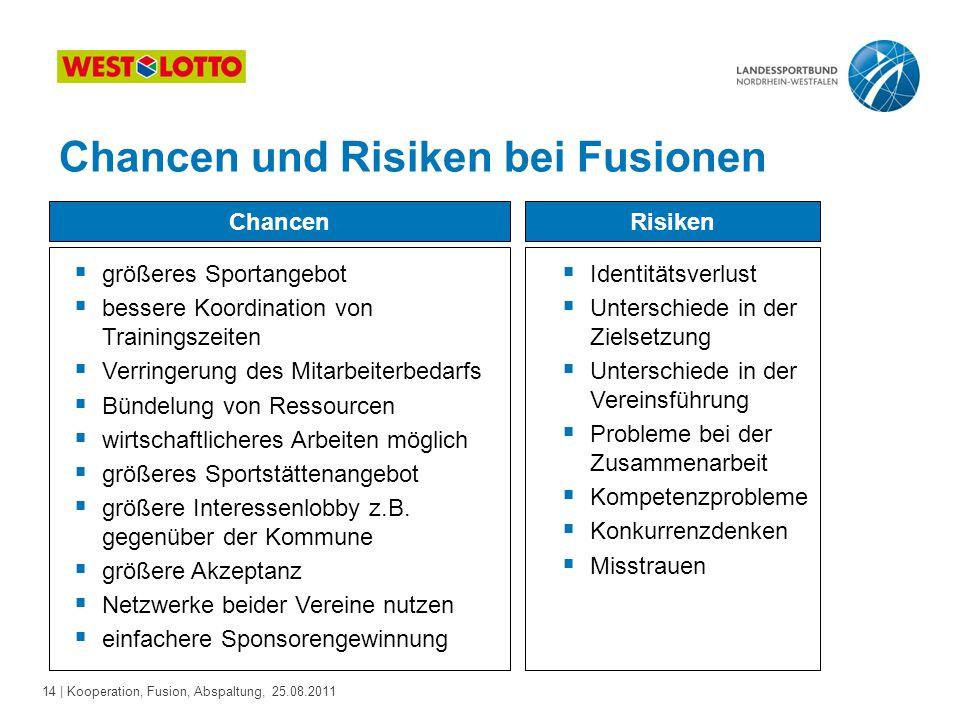 Chancen und Risiken bei Fusionen