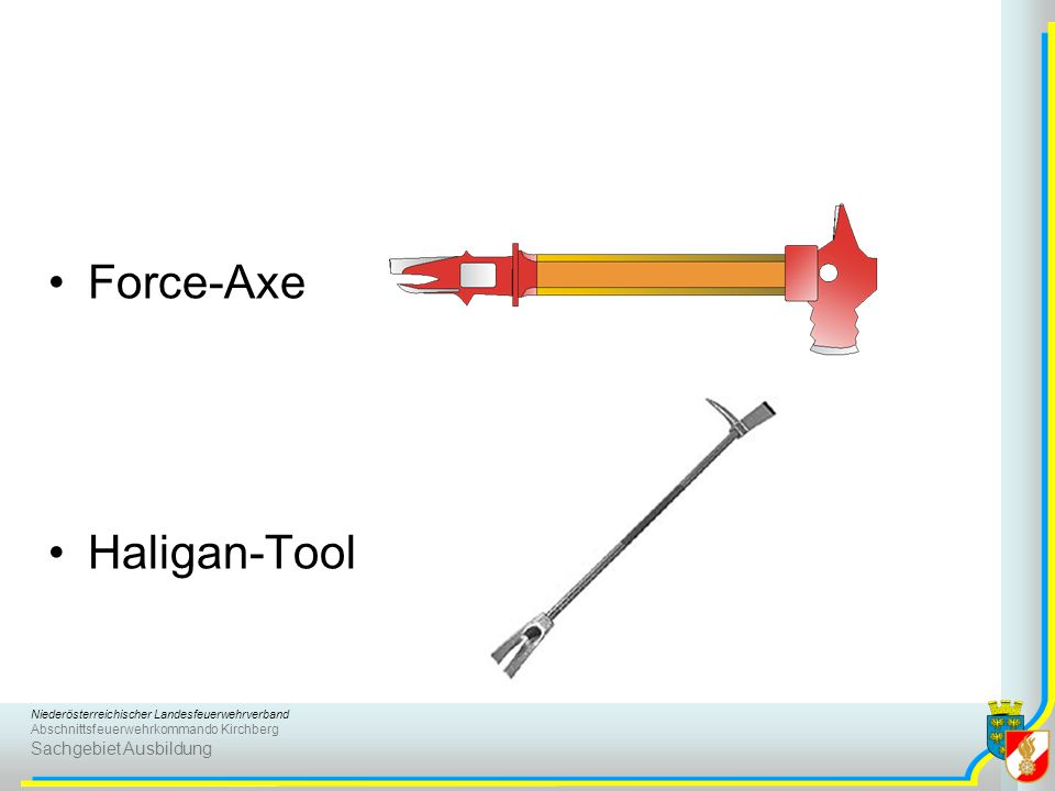 Force-Axe Haligan-Tool