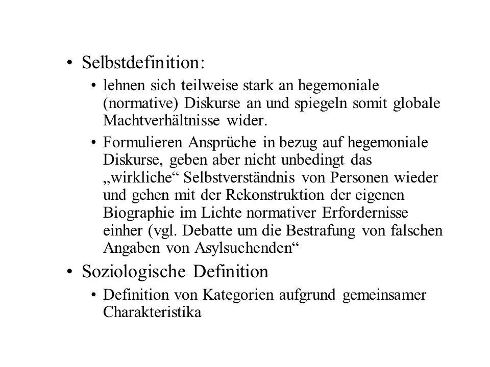 Soziologische Definition