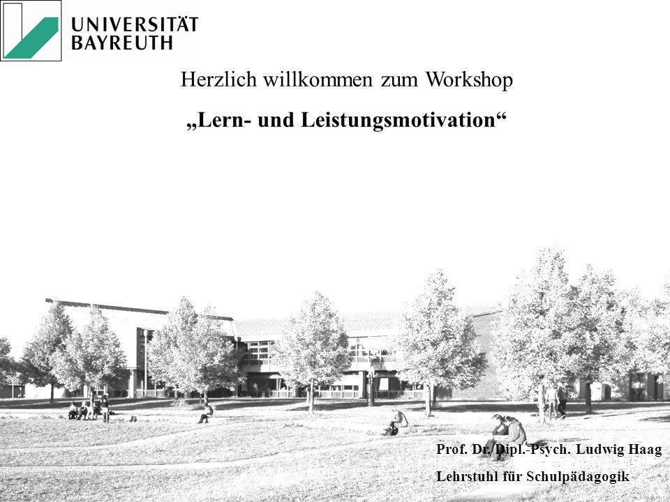 """""""Lern- und Leistungsmotivation"""
