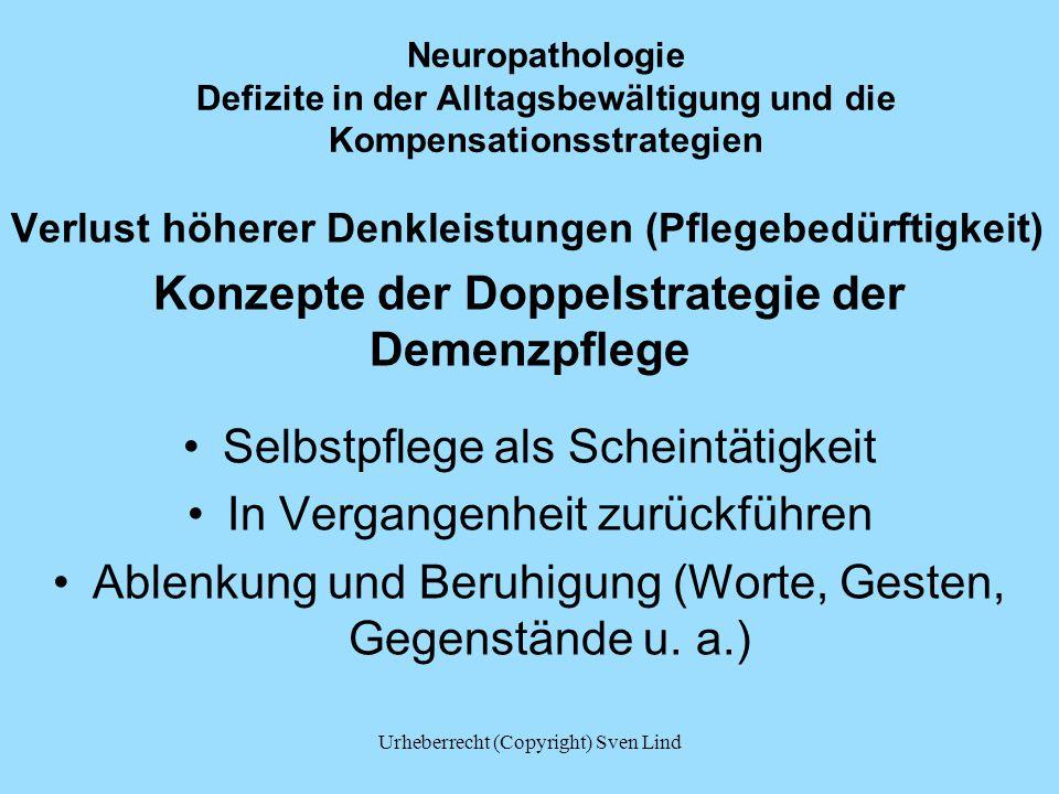 Konzepte der Doppelstrategie der Demenzpflege