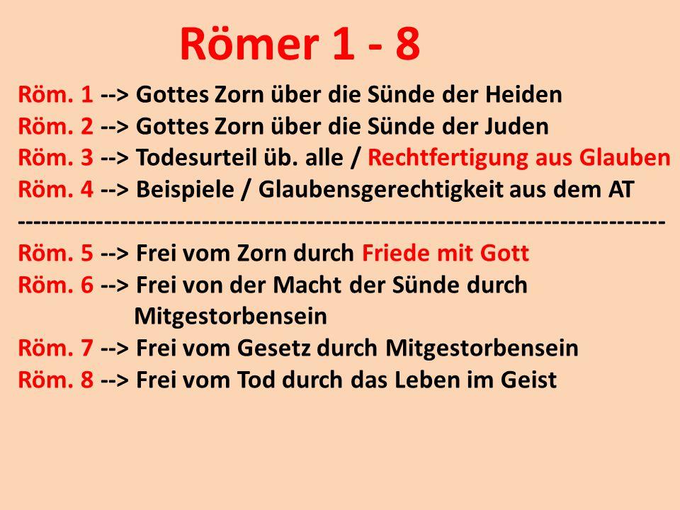 Römer 1 - 8