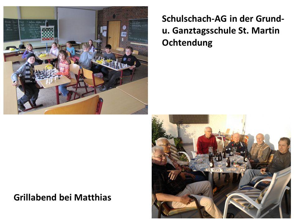 Schulschach-AG in der Grund- u. Ganztagsschule St. Martin Ochtendung
