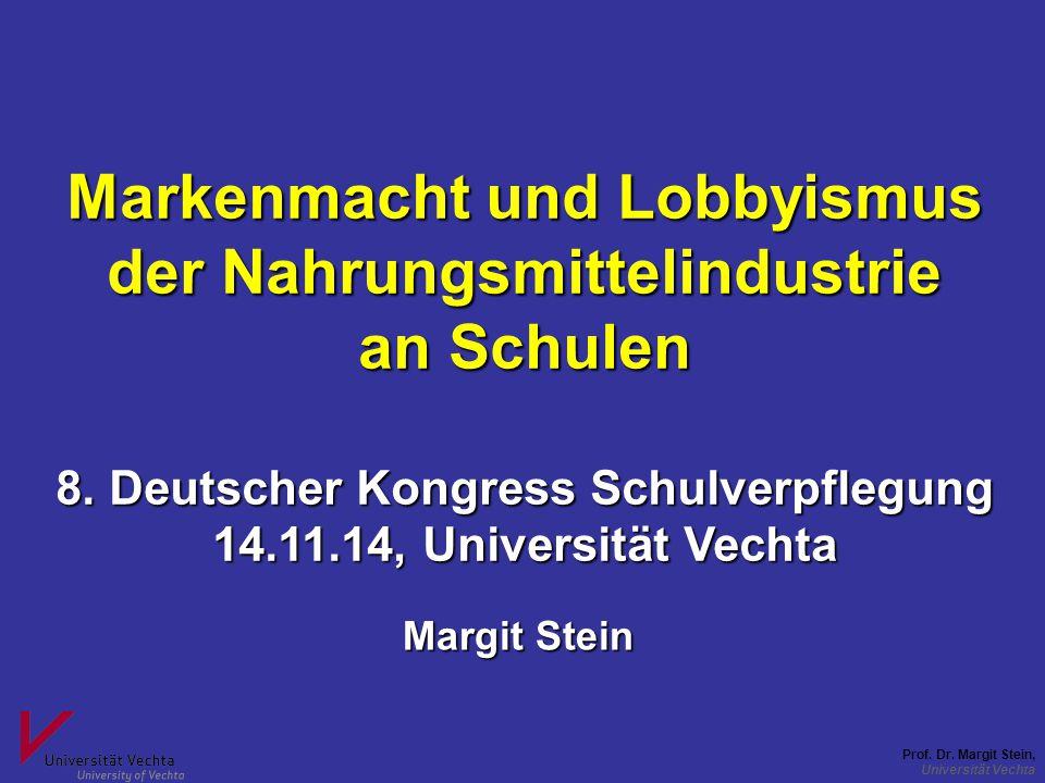 an Schulen 8. Deutscher Kongress Schulverpflegung